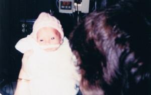 mandy newborn with mom
