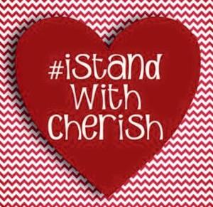 i stand with cherish