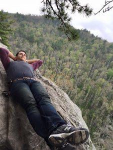 jad on mountain