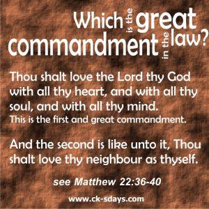 two-great-commandments